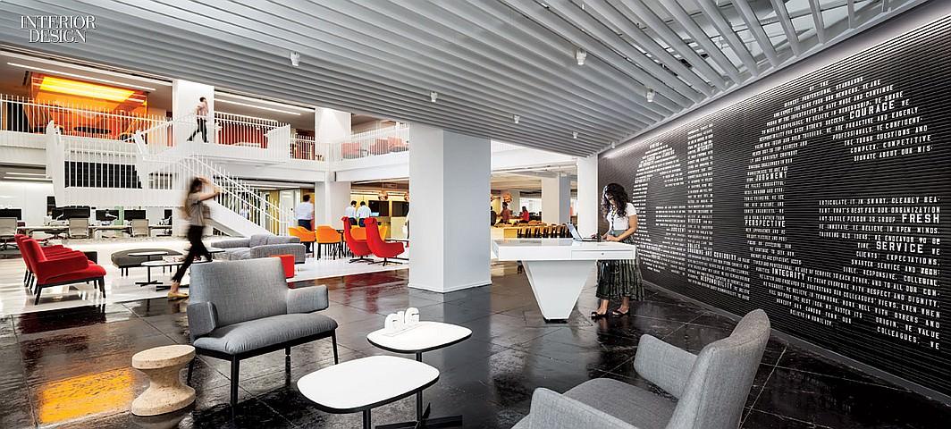 Interior Design Magazine Features Glg S New York Headquarters Glg