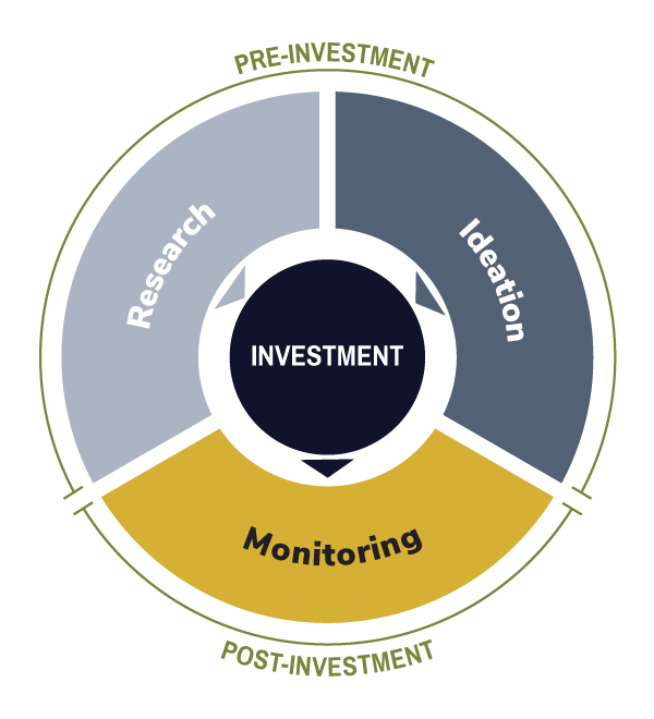 Steps of the investment cycle